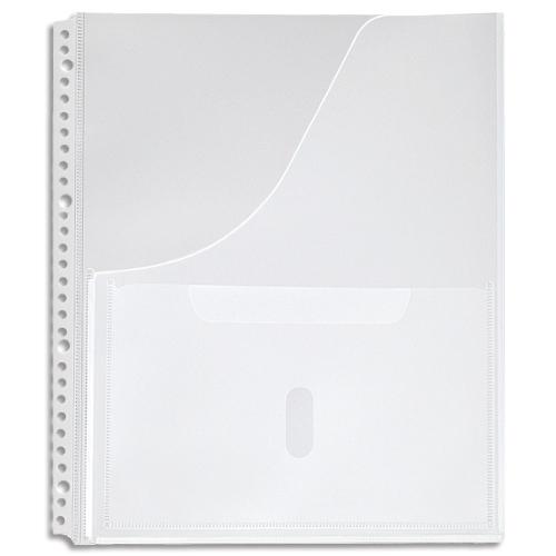 キングジム スキットマン 取扱説明書ファイル専用ポケット A4タテ 2・4・30穴 2630P 1パック(4枚)