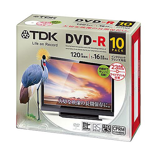 DR120DPWC10UE [DVD-R 16�{�� 10���g]