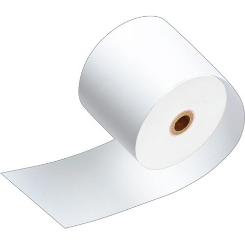 TANOSEE サーマルレジロール紙 ノーマル保存 幅80mm×長さ63m 直径71mm 芯内径12mm 1パック(3巻)