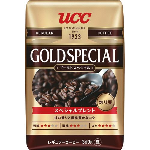 UCC ゴールドスペシャル スペシャルブレンド 360g(豆) 1袋