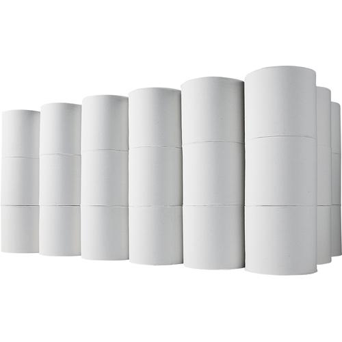 TANOSEE トイレットペーパー 無包装 シングル 芯なし 150m 1ケース(45ロール)