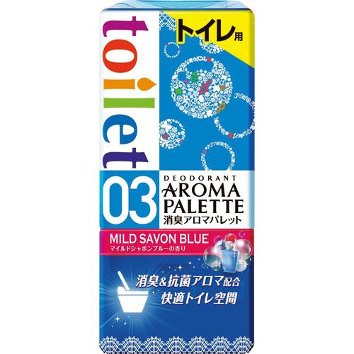 アース製薬 消臭アロマパレット トイレ用 マイルドシャボンブルー 1個