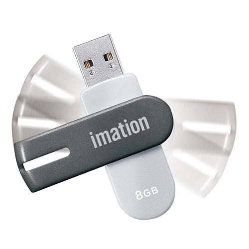 Flash Drive NANO-f UFDNFE8GSL [8GB �V���o�[]