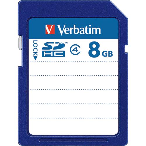 バーベイタム SDHCカード 8GB Class4 SDHC8GYVB1 1枚