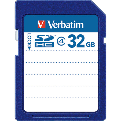 バーベイタム SDHCカード 32GB Class4 SDHC32GYVB1 1枚