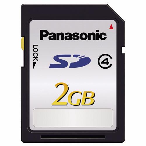 パナソニック SDメモリーカード 2GB Class4 RP-SDL02GJ1K 1枚