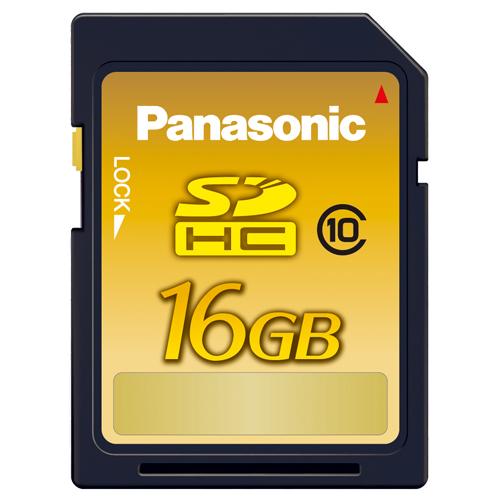 パナソニック SDHCメモリーカード 16GB Class10 RP-SDWA16GJK 1枚