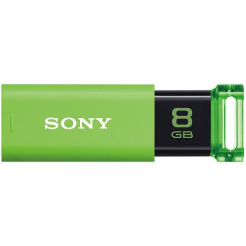 ソニー USBメモリー ポケットビット Uシリーズ 8GB グリーン USM8GU G 1個