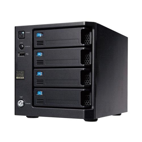 アイオーデータ LAN DISK XRW WD RED採用 RAID6対応ネットワーク接続ハードディスク 4TB HDL-XR4.0W 1台