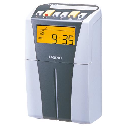 アマノ 電子タイムレコーダー シルバー CRX-200(S) 1台