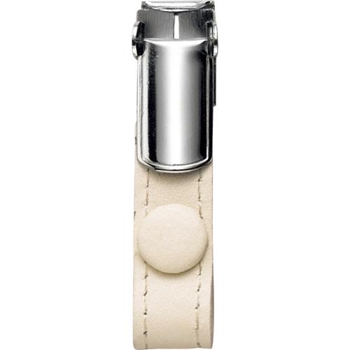 フロント 本革製ネームカードホルダー用クリップ ホワイト RLNHCR-W 1個