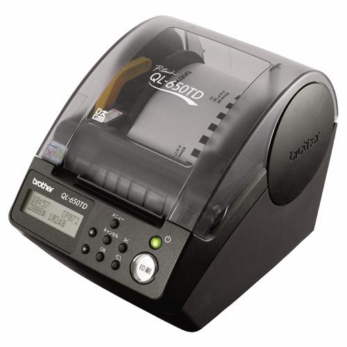 ブラザー ピータッチ 感熱ラベル対応 QL-650TD 1台