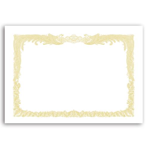 タカ印 OA賞状用紙 白 A4 タテ書用 業務用パック 10-1160 1ケース(100枚)