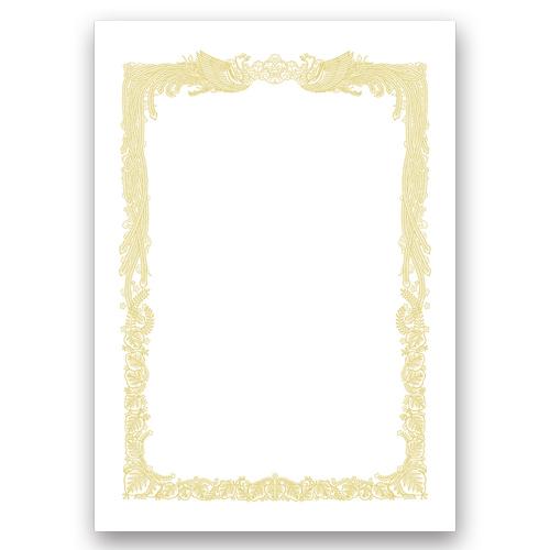 タカ印 OA賞状用紙 白 A4 ヨコ書用 業務用パック 10-1161 1ケース(100枚)