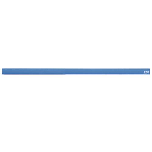 ライオン事務器 マグネットバー 長さ320×幅15×厚さ8.5mm ブルー No.300P 1本
