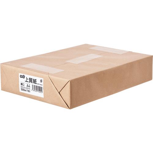 TANOSEE 上質紙 厚口 A4 1冊(500枚)