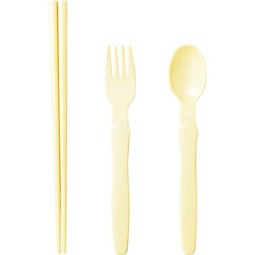小森樹脂 箸・スプーン・フォークセット ナチュラル 1セット