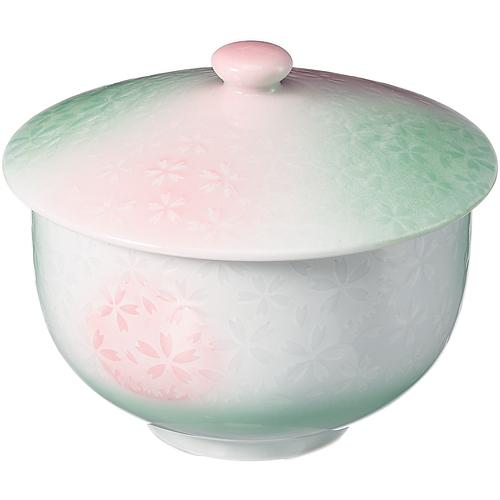 いちがま 平安桜蓋付煎茶 1セット(5客)