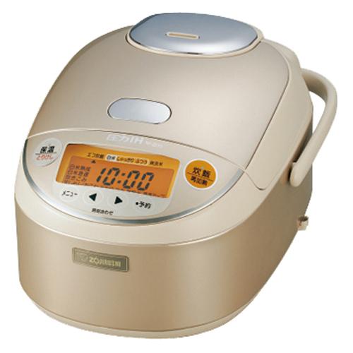 象印 圧力IH炊飯ジャー 極め炊き 5.5合炊き シャンパンゴールド NP-ZE10-NL 1台