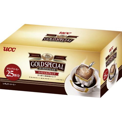 UCC ゴールドスペシャル ドリップコーヒー スペシャルブレンド 8g 1箱(25袋)