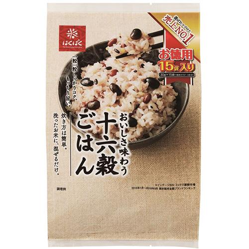 はくばく 十六穀ごはん お徳用 30g/袋 1パック(15袋)
