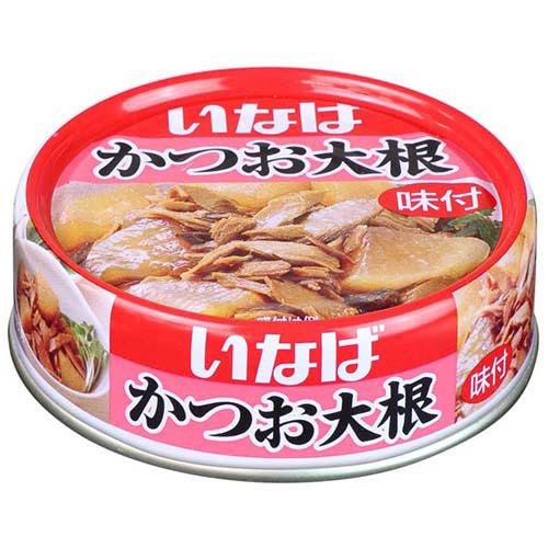 いなば食品 かつお大根 100g 1缶
