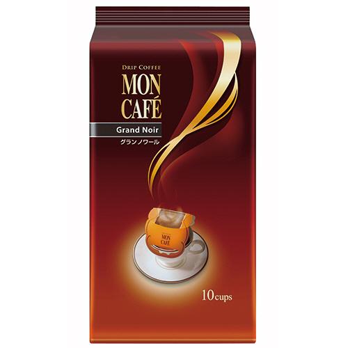 片岡物産 モンカフェ ドリップコーヒー グランノワール 7.5g 1パック(10袋)