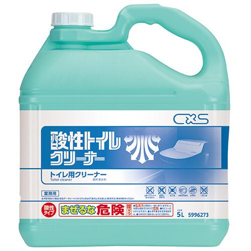 シーバイエス 酸性トイレクリーナー 5L 1個