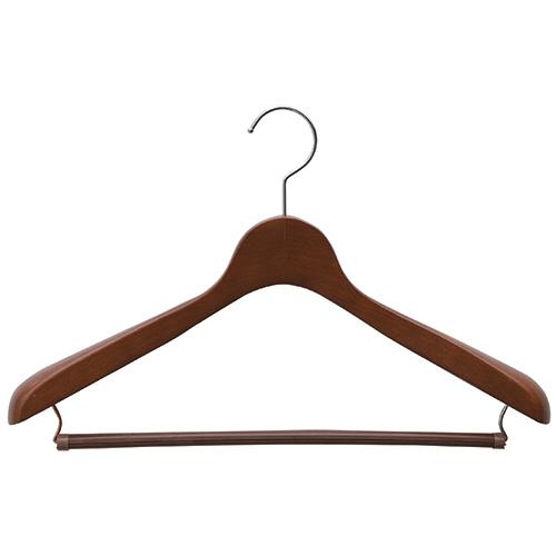 シンコハンガー 木製ハンガー ウッドベーシス 01オークストップ 1本