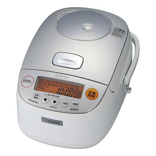 象印 圧力IH炊飯ジャー 極め炊き 5.5合炊き ホワイト NP-BG10-WA 1台