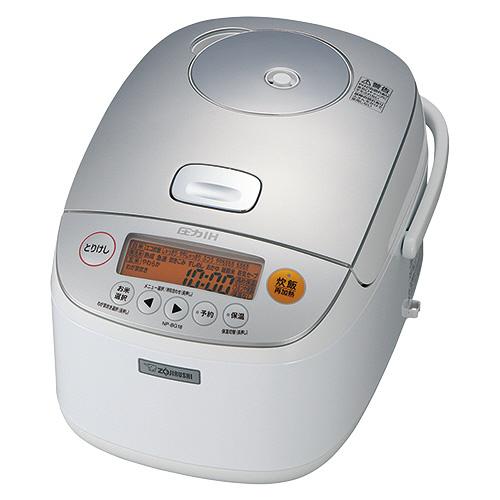 象印 圧力IH炊飯ジャー 極め炊き 1升炊き ホワイト NP-BG18-WA 1台