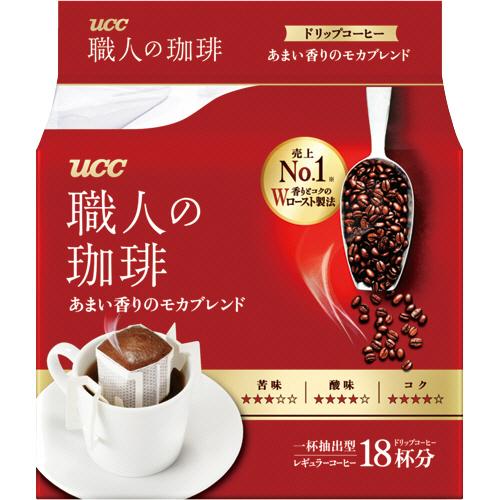 UCC 職人の珈琲 ドリップコーヒー あまい香りのモカブレンド 7g 1パック(18袋)