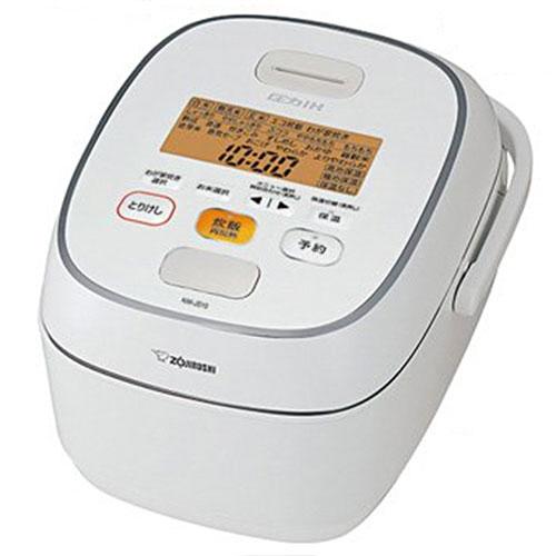 象印 圧力IH炊飯ジャー 極め炊き 1升 ホワイト NW-JS18-WA 1台