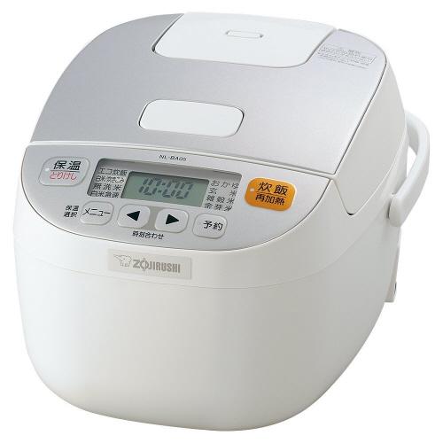 象印 マイコン炊飯ジャー 極め炊き 3合炊き ホワイト NL-BA05-WA 1台