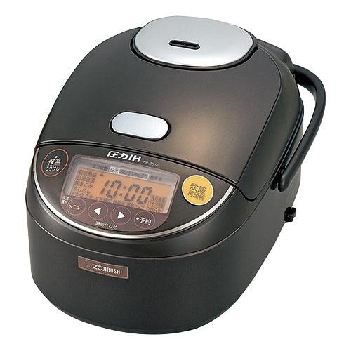 象印 圧力IH炊飯ジャー 極め炊き 黒まる厚釜 5.5合炊き ダークブラウン NP-ZD10-TD 1台