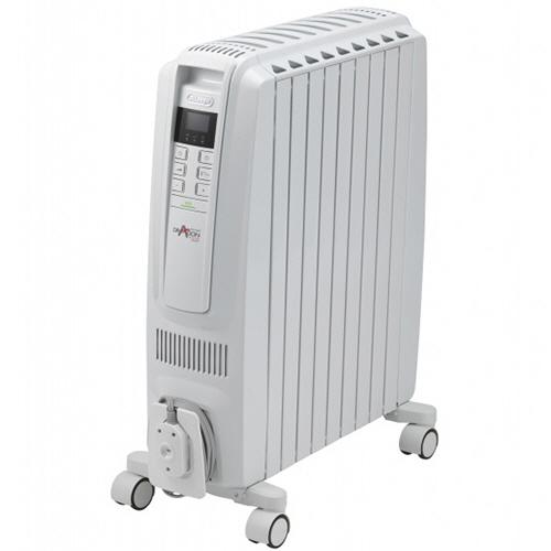 デロンギ ドラゴンデジタルスマート オイルヒーター ピュアホワイト+ホワイト QSD0915-WH 1台