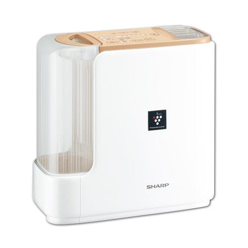 シャープ プラズマクラスターハイブリッド式加湿器 ベージュ系/キャメルベージュ HV-G50-C 1台