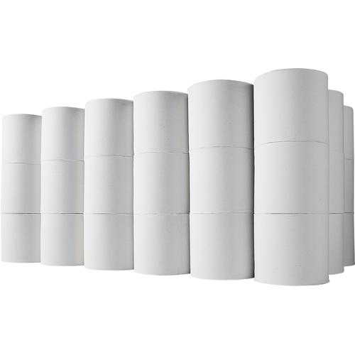 TANOSEE トイレットペーパー 無包装 シングル 芯なし 170m 1ケース(48ロール)