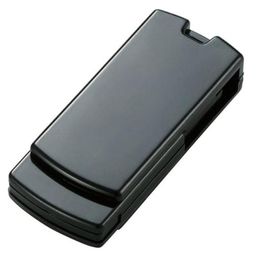 エレコム 回転式USB2.0メモリ 16GB ブラック MF-RSU216GBK 1個