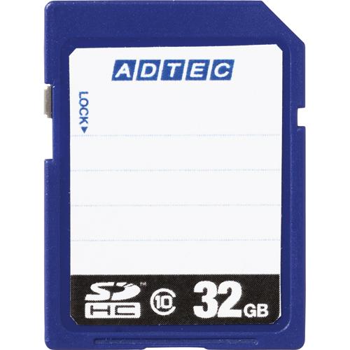 アドテック SDHCメモリカード 32GB Class10 インデックスタイプ AD-SDTH32G/10T 1枚