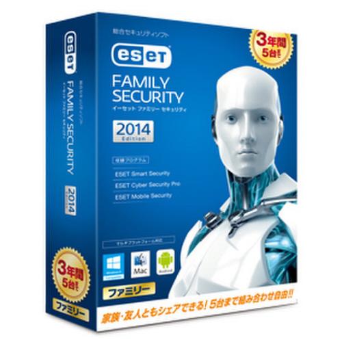 キヤノン ESET ファミリー セキュリティ 3年版 2785V39901 1本