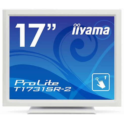 iiyama 17型スクエア液晶ディスプレイ SXGA 2系統入力 IP54対応 抵抗膜タッチ T1731SR-W2 1台