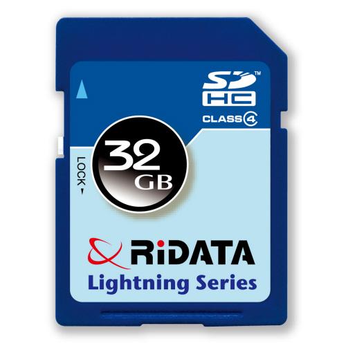 RiDATA SDHCメモリーカード 32GB Class4 1枚