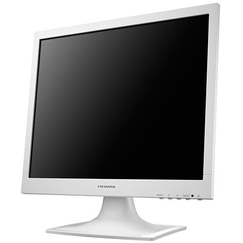 アイオーデータ フリッカーレス設計採用 17型スクエア液晶ディスプレイ ホワイト LCD-AD173SEW 1台