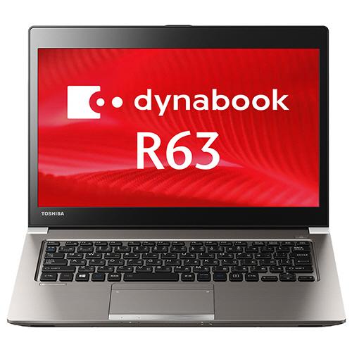 東芝 dynabook SatelliteR63P 13.3型 Core i5-5300U 128GB(SSD) PR63PBAA637AD81 1台