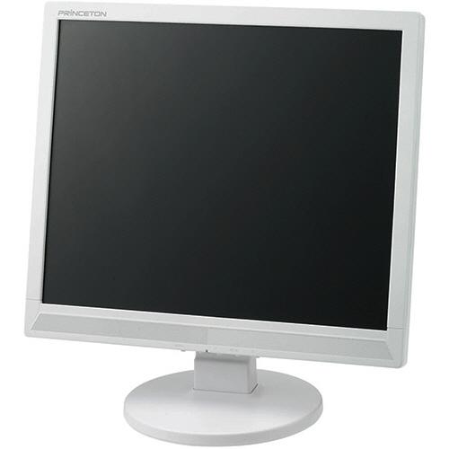 プリンストン 白色LEDバックライトパネル搭載 17インチ液晶ディスプレイ ホワイト PTFWCF-17 1台