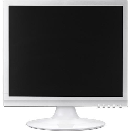 グリーンハウス 17型カラーLED液晶ディスプレイ VGA/DVI ホワイト GH-LCS17C-WH 1台