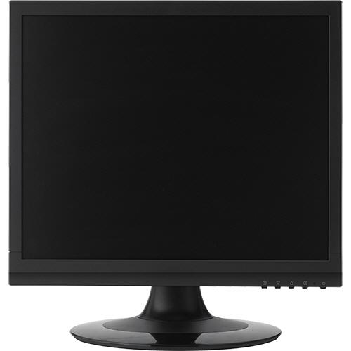 グリーンハウス 17型カラーLED液晶ディスプレイ VGA/DVI ブラック GH-LCS17C-BK 1台