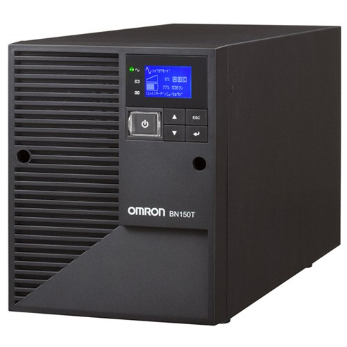オムロン LCD搭載タワー型 ラインインタラクティブ UPS 1500VA/1350W BN150T 1台