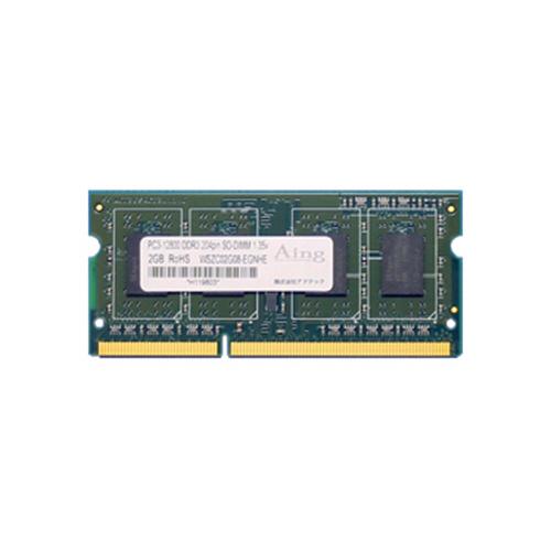 アドテック DDR3L-1600 SODIMM 4GB 定電圧・省電力 ADS12800N-LH4G 1枚